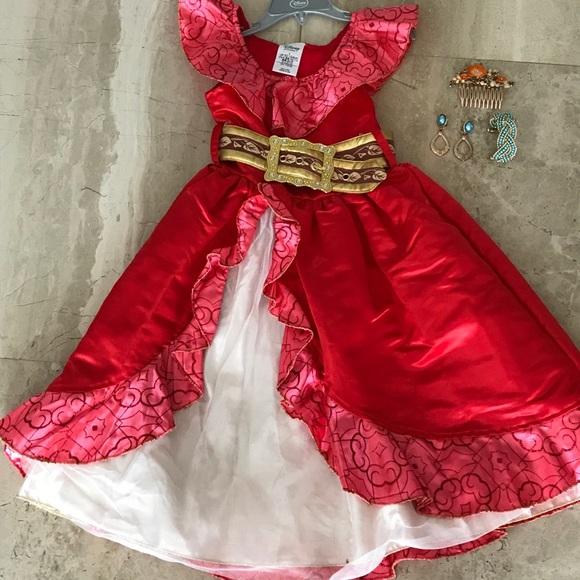 NWT Disney Elena of Avalor Dress NEW  Size 3T//4T Halloween Costume